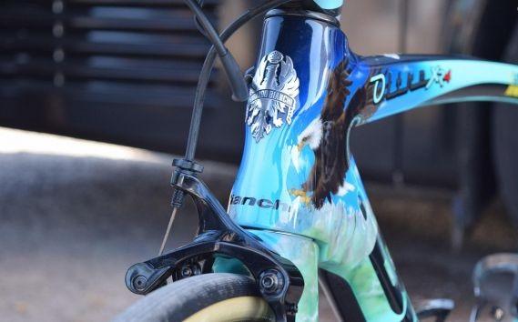 A Bianchi Oltre XR4s de Primož Roglič e Dylan Groenewegen no Tour de France 2018 (18)