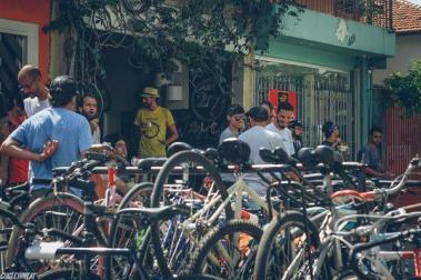 Entrada do Aro 27 Bike Café (Divulgação)