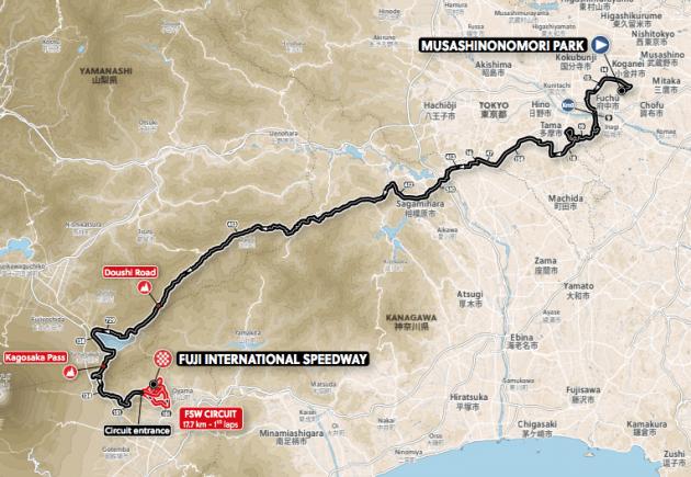 Olimpíadas Tóquio 2020 - UCI aprova percurso do ciclismo de estrada (4).png