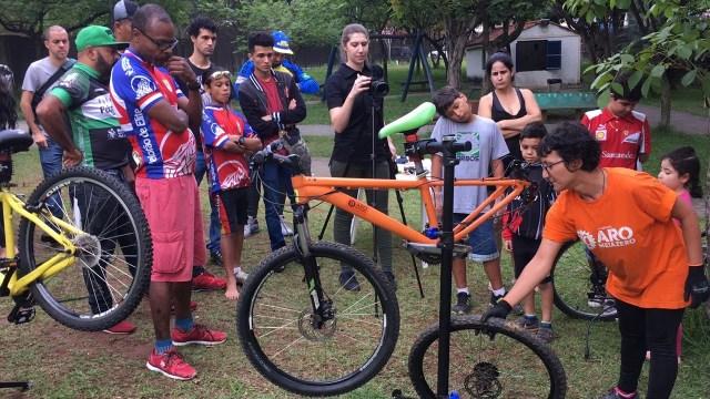Impacto social através da bicicleta Escola Park Tool e Instituto Aromeiazero transformam (1)