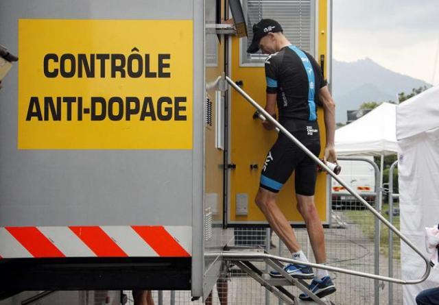Wada controle anti doping