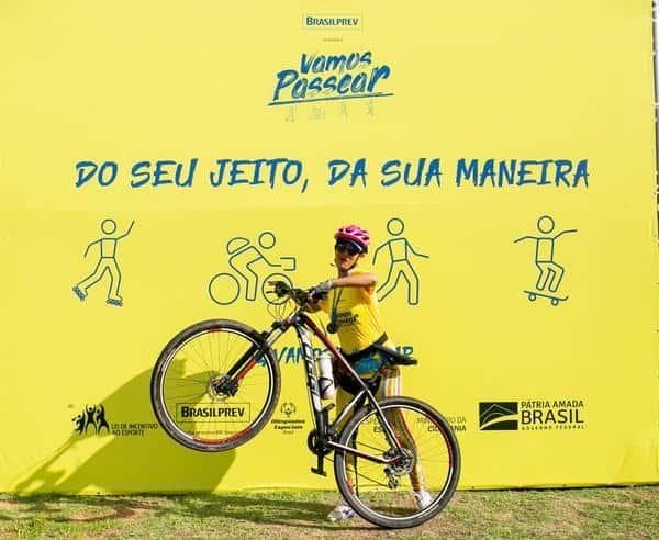 Eliane, professora, foi de bike (@ericasoledadefotografia)