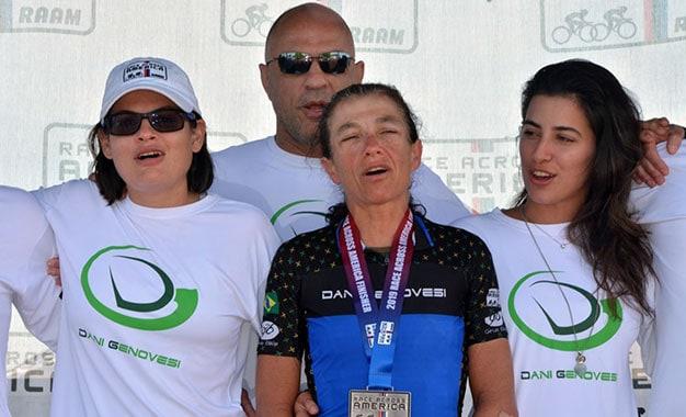 Dani Genovesi é bicampeã da Race Across America - 2009 e 2019 (3)