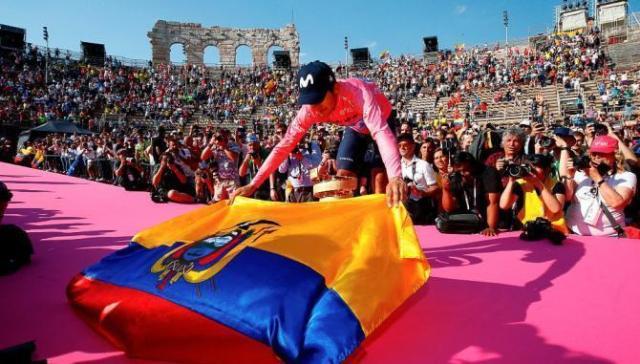 Richard Carapaz vence o Giro d'Itália 2019 (4)