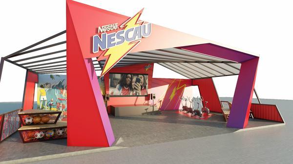 Além da tirolesa, NESCAU promove desafio de bikes na Game XP, no Rio de Janeiro