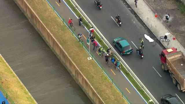 Ciclista morre atropelado por caminhão em São Bernardo do Campo (2)