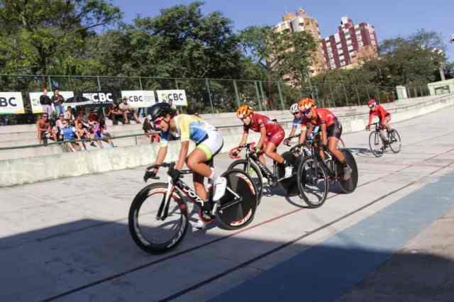 Omnium fecha 3º dia de provas do Brasileiro de Ciclismo de Pista Junior (2)