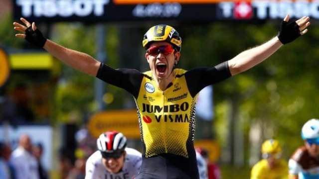 Tour de France 2019 10ª etapa - Wout Van Aert vence por milímetros no sprint (2)