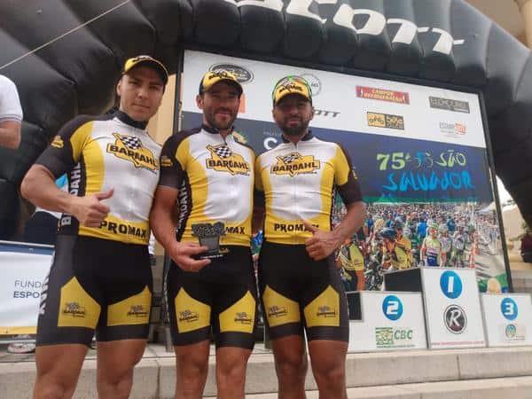 trio-promax-bardahl-na-prova-ciclistica-de-sao-salvador