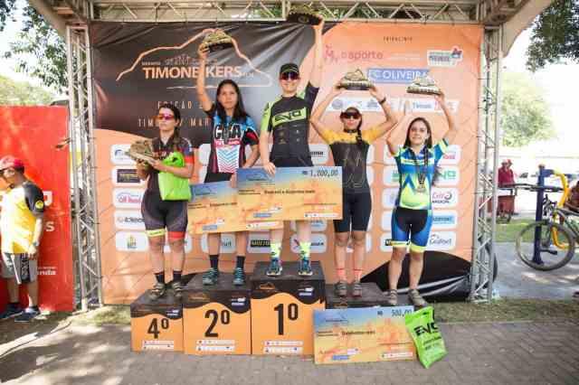 Premiação Elite Feminino - Desafio TImon Biker