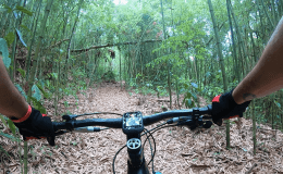 Itaipava de bike