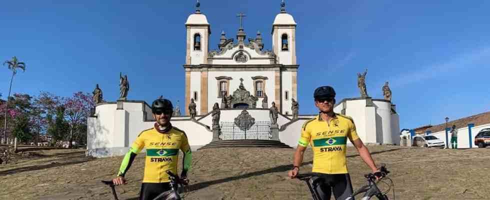 Fred realiza pedal social de Belo Horizonte até o Rio de Janeiro