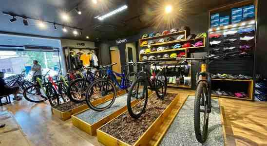 Venda de bicicletas