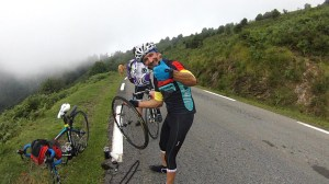 Roberto fixing puncture