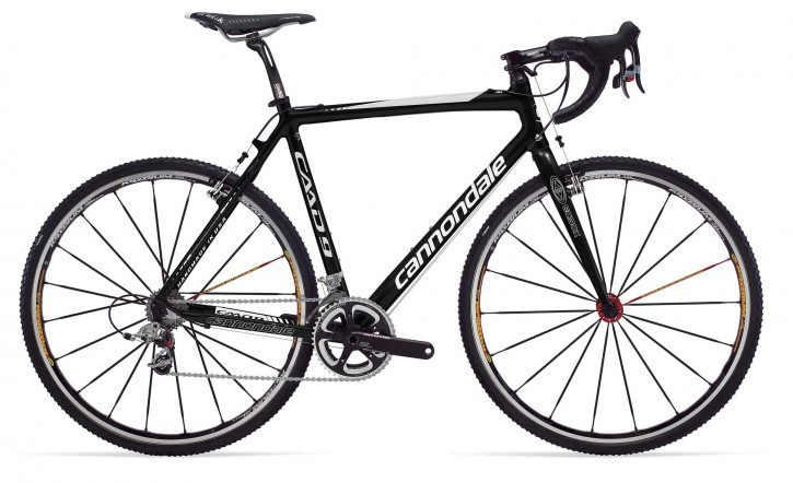 2010 Cannondale Cyclocross Red