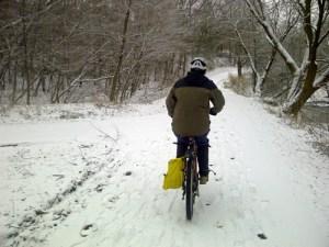 2013 biking winter Etobicoke Crk trail_500
