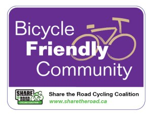 bike friendly community logo