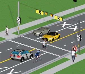 mto pedestrian cross over