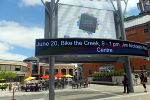 BikeBrampton Bike the Creek Garden Square