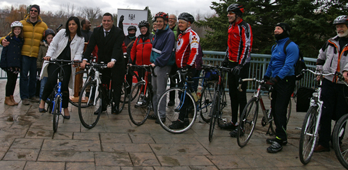 Brampton Cycling Infrastructure Announcement