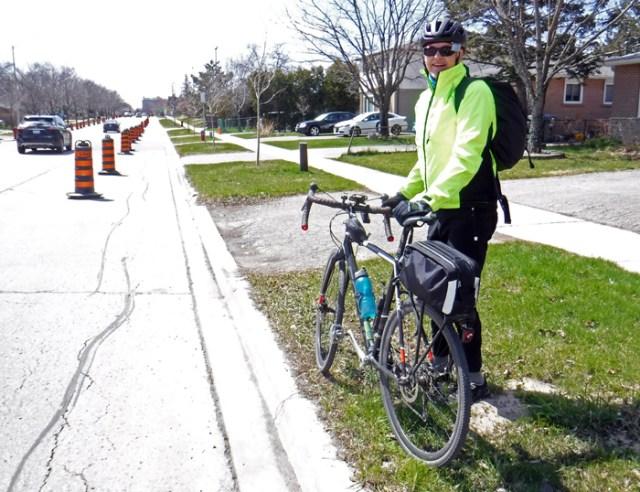 do not block bike lane