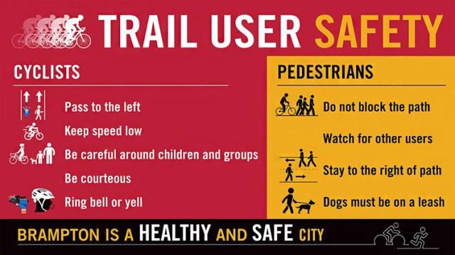 Brampton Trail User Safety