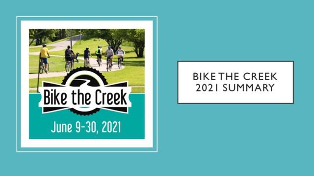 2021 Bike the Creek 1