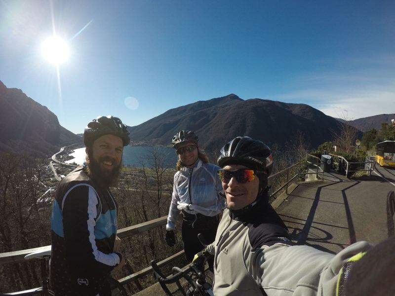 Bikebuebe in Ticino