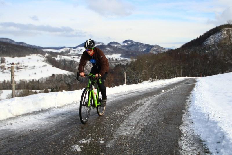 Cyclocross in Winter