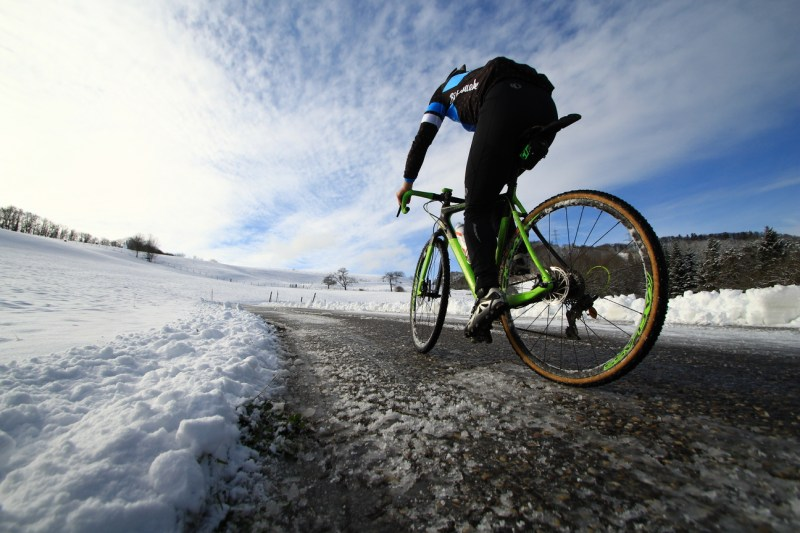 Cyclocross in Winter
