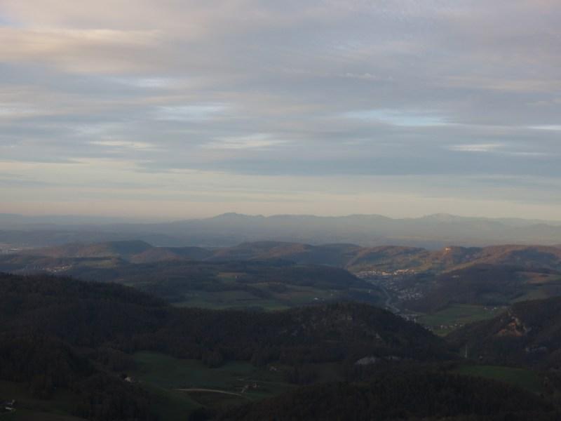 Baselbiet, Jura, Schwarzwald
