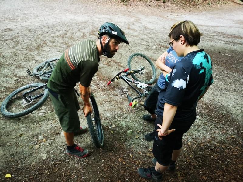 On-Trail-Pannenhilfekurs