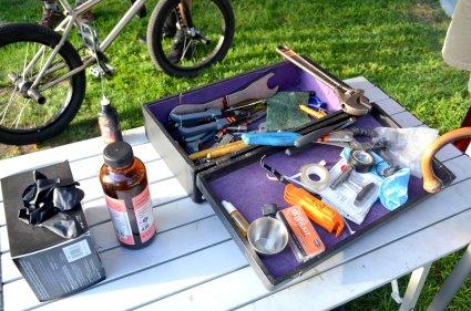 Bronwen's tool kit.