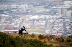 Miguel Angel Carrizosa Garcia of Spain during the Prologue of the 2015 Absa Cape Epic Mountain Bike stage race held at the University of Cape Town in Cape Town, South Africa on the 15 March 2015 Photo by Gary Perkin/Cape Epic/SPORTZPICS