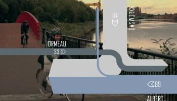 Lagan cordon count (Ormeau Bridge)