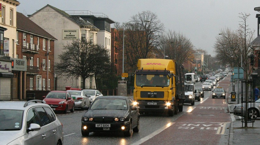 Holywood Road bus lane