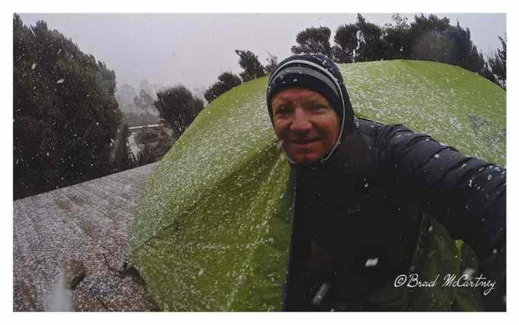 winter hiking walls of jerusalem