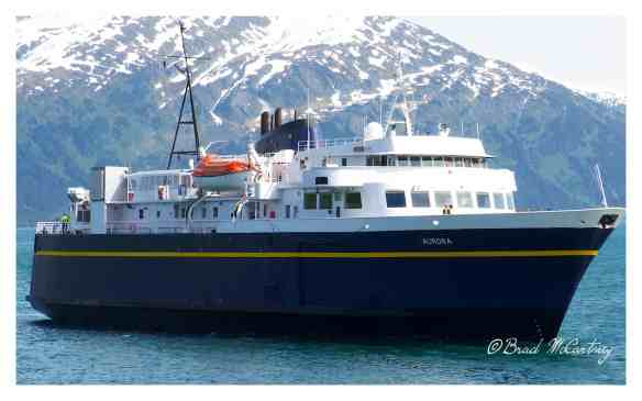 Ferry crossing from Whittier to Valdez