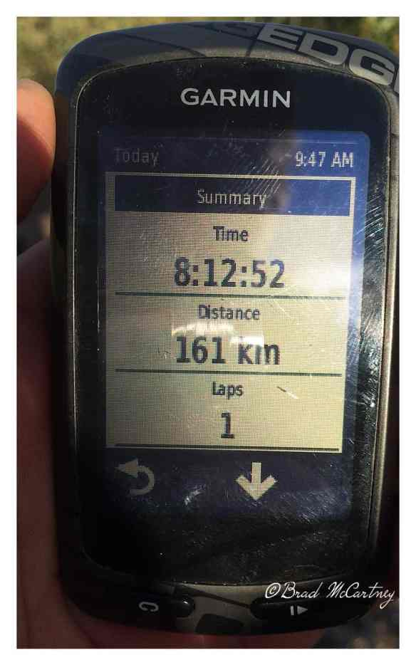 80km or 6 hours of cycling is a normal day for me, some days are not normal.