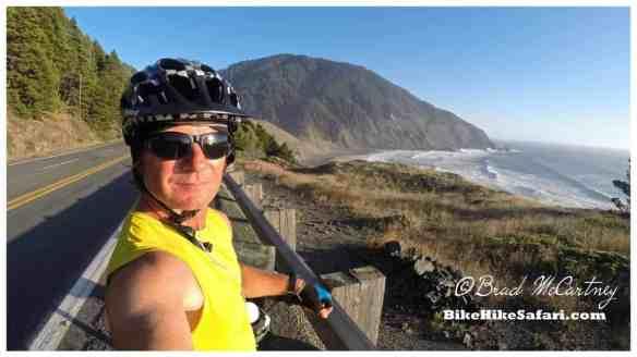 Humbug Mountain coastal scenery, great evening riding