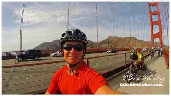 Cycling the Golden Gate Bridge
