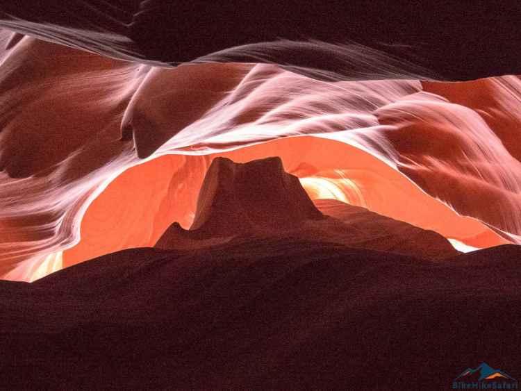 Hiking Upper Antelope Canyon