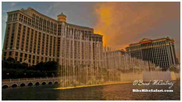 Bellagio with the fountains
