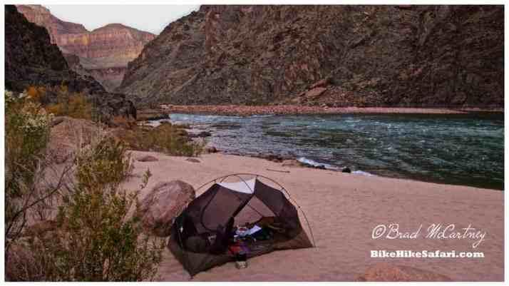 My camp at Granite Beach