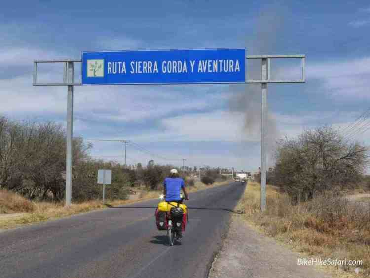 Cycling Sierra Gorda