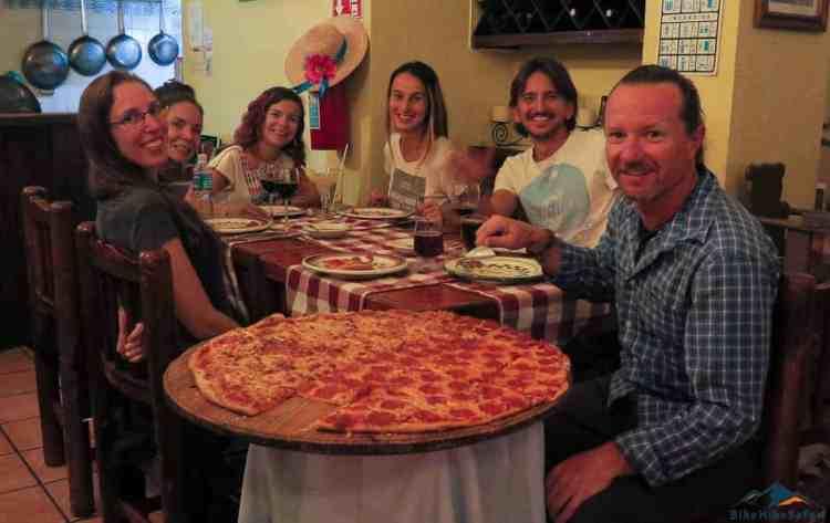 70cm pizza