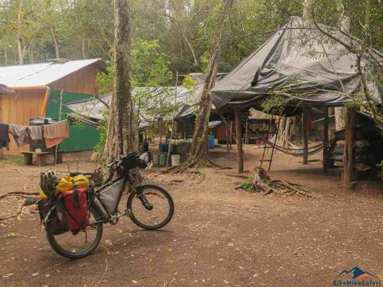 El Tintal campsite