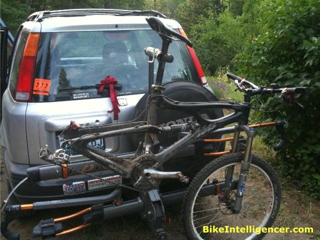 video bike etrailer platform kuat tv rack nv review com