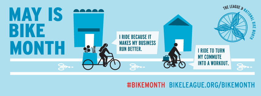 Image result for may is bike month