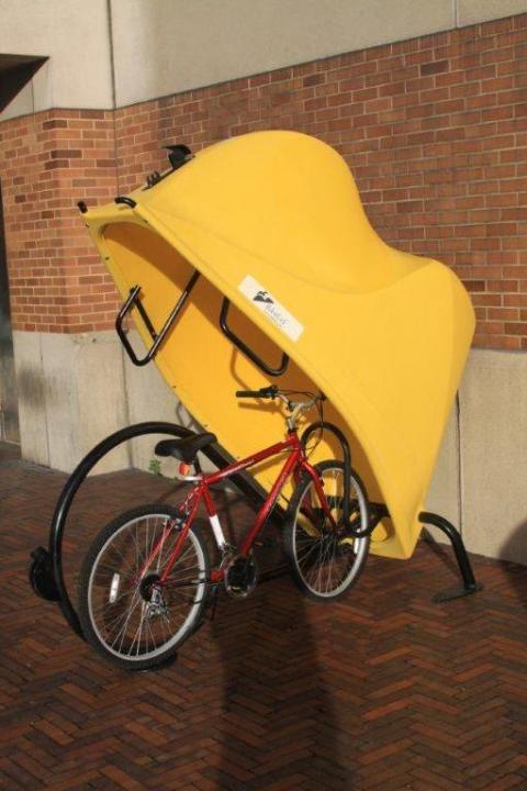 BikeLid-Bike-Storage-Locker-Yellow